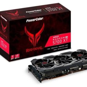 VGA PowerColor Radeon Red Devil RX 5700XT 8 GB GDDR6 | PowerColor - AXRX 5700XT 8GBD6-3DHE / OC