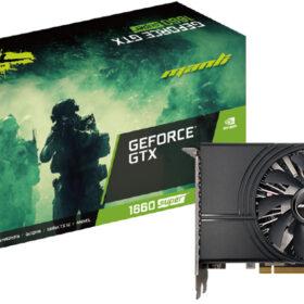 VGA Man GeForce® GTX 1660 Super 6GB Mini   Manli - N52416600M14310