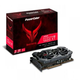 PowerColor VGA Radeon Red Devil RX 5600XT 6GB AXRX 5600XT 6GBD6-3DHE / OC