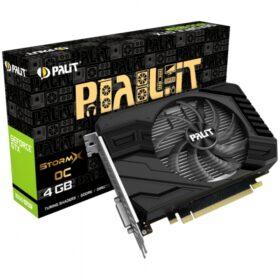 GTX 1650Super 4GB Palit StormX OC - dvostruki utor - 1Fan NE6165SS18G1-166F