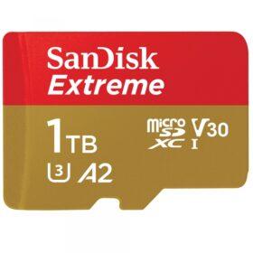 SANDISK MicroSDXC Extreme 1TB R160 / W90 Cl.10 U3 V30 A2 SDSQXA1-1T00-GN6MA