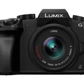 Panasonic Lumix DMC-G70 Kit schwarz + H-FS 14-42 - DMC-G70KAEGK