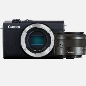 Canon EOS M200 Kit schwarz + EF-M 15-45 IS STM - 3699C010
