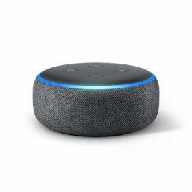 Amazon Echo Dot 3 antrazit Zvučnik asistent Intelligenter B07PHPXHQS