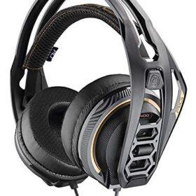 Gaming slušalice Plantronics RIG 400 Pro HC, crna / zlatna