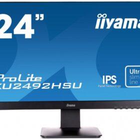 60,5 cm / 23,8 (1920x1080) Iiyama ProLite XU2492HSU-B1 Full HD IPS 5 ms HDMI DP LS crna XU2492HSU-B1