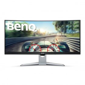_BenQ 88,9cm EX3501R 219 DP / USB-C / 2xHDMI sivo zakrivljeni QHD 9H.LGJLA.TSE