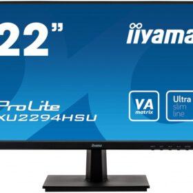 IIYAMA 54,6 cm (21,5) XU2294HSU-B1 169 HDMI + DP + 2xUSB bla XU2294HSU-B1