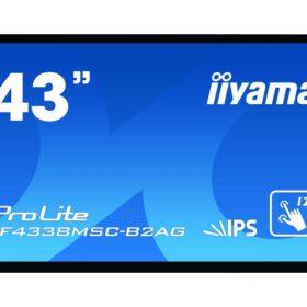 IIYAMA 107,9 cm (43,0) TF4338MSC-B2AG 169 M-Touch DVI + 2xHDMI TF4338MSC-B2AG