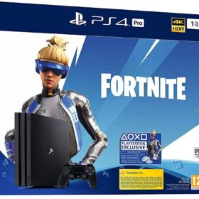 Sony PS4 Pro 1TB + Fortnite - PlayStation 4 Pro - crna