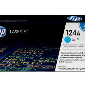 HP 124A Original LaserJet tonerpatron cijan Q6001A