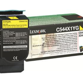 Lexmark TON C544X1YG žuti C544X1YG