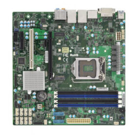 Super mikro poslužitelj MB 1xLGA 1151 / mATX / Gb LAN X11SAE-M MBD-X11SAE-MO
