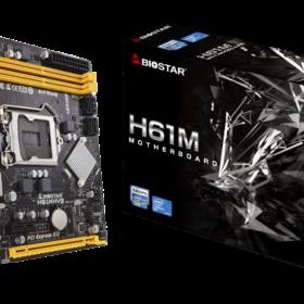 Biostar MB H61MHV2 H61 S1155 mATX DDR3 Intel H61MHV2