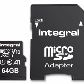 Integrirana memorijska kartica MicroSDXC 64 GB Cl.10