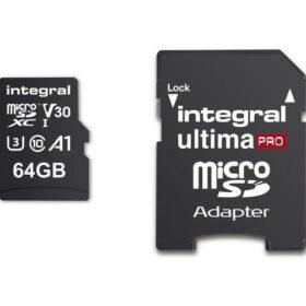 Integrirana memorijska kartica MicroSDXC Ultima Pro 64 GB Cl.10