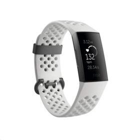 Fitbit Charge 3 OLED tragač za aktivnost narukvice mrazno bijeli / grafit SPC DE - FB410GMWT-EU