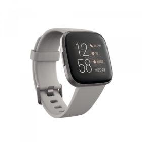 Fitbit Versa 2 Tragač za aktivnost narukvice kamen / magla sivo - FB507GYSR