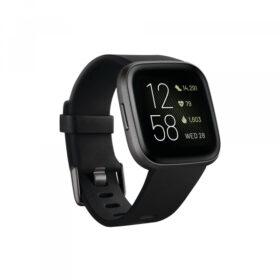 Fitbit Versa 2 Tragač za aktivnosti narukvice crni / karbon DE - FB507BKBK