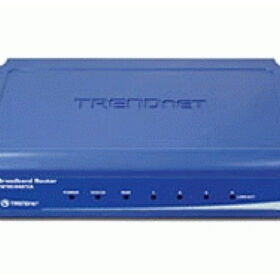 TRENDnet usmjerivač 4-portni 100MBit širokopojasni NAT vatrozid-Schutz TW100-S4W1CA