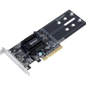Synology NAS M2D18 adapter za dvostruki M.2 SATA SSD NVMe M2D18