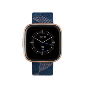 FitBit Versa 2 (NFC) Smartwatch mornarsko-ružičasta tkanina FB507RGNV