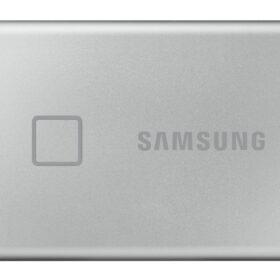 Samsung prijenosni SSD T7 Touch 2TB srebrni MU-PC2T0S / WW