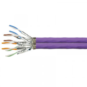 Instalacijski kabel za zamjenski kabel CAT7A S / FTP 100m duplex 1200Mhz CQ6100D