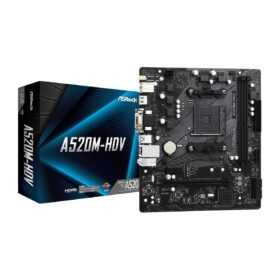 AM4 ASRock A520M-HDV µ 90-MXBE50-A0UAYZ