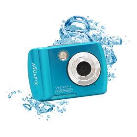 Easypix AQUAPIX W2024 SPLASH Podvodna kamera (ledeno plava)