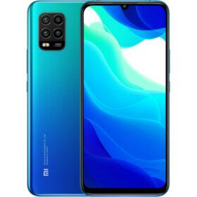 Xiaomi Mi 10 Lite 5G Dual-SIM-pametni telefon Aurora-plavi 128 GB MZB9319EU