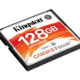 Kingston Canvas Focus CompactFlash 128 GB CFF / 128 GB