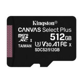 Kingston Canvas Select Plus micSDXC 512GB UHS-I SDCS2 / 512GBSP