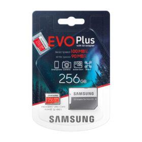 MicroSDXC Samsung EVO + HA 256GB CL10 UHS-I U3 MB-MC256HA / EU