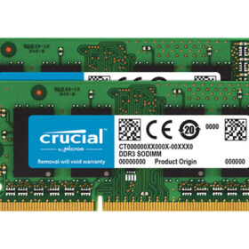 Presudan DDR3L 16 GB 2x8 GB SO DIMM 204-PIN CT2K8G3S186DM