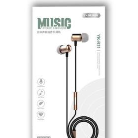 YK-Design stereo žičane glazbene slušalice 3,5 mm (YK-R11)