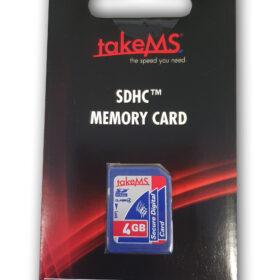 takeMS SDHC memorijska kartica 4 GB CL4 u maloprodaji