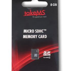 TakeMS MicroSDHC memorijska kartica 8 GB u maloprodaji