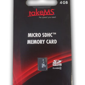 TakeMS MicroSDHC memorijska kartica 4 GB u maloprodaji