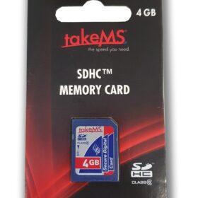 takeMS SDHC memorijska kartica 4 GB CL6 u maloprodaji