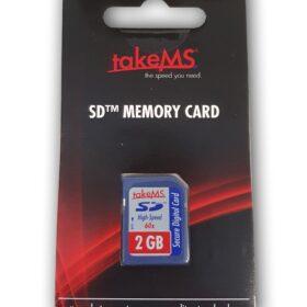TakeMS SD memorijska kartica velike brzine 2 GB u maloprodaji