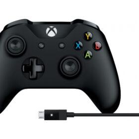 Microsoft Xbox bežični kontroler + kabel za Windows 4N6-00002
