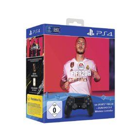 Sony Playstation bežični kontroler Dual Shock crni inkl. FIFA 20 - PS4 CONTR FIFA