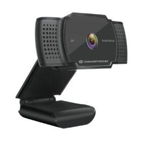 Conceptronic AMDIS 2k Super HD web kamera i mikro. schwarz AMDIS02BNEUEVERSION