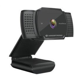 CONCEPTRONIC Webcam AMDIS 2k Super HD Webcamamp