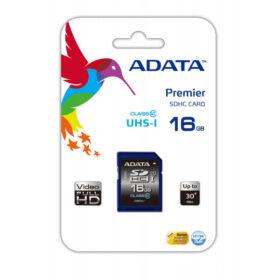 ADATA SDHC UHS-I klasa 10 16 GB Premier -ASDH16GUICL10-R