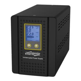 EnerGenie pretvarač za kuću s AVR i baterijama. Funkcija 800VA EG-HI-PS800-01