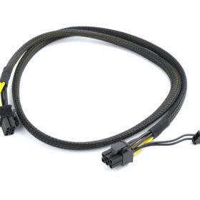 CableXpert PCI-Express 6-pinski muški do 6 + 2 pinskog muškog napajanja 0,8 m CC-PSU-86