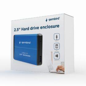 Gembird USB 3.0 2.5 kućište tvrdog diska EE2-U3S-2-B