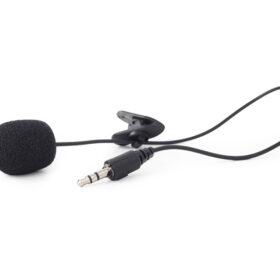 Gembird 3,5 mm pričvrsni mikrofon, crni MIC-C-01